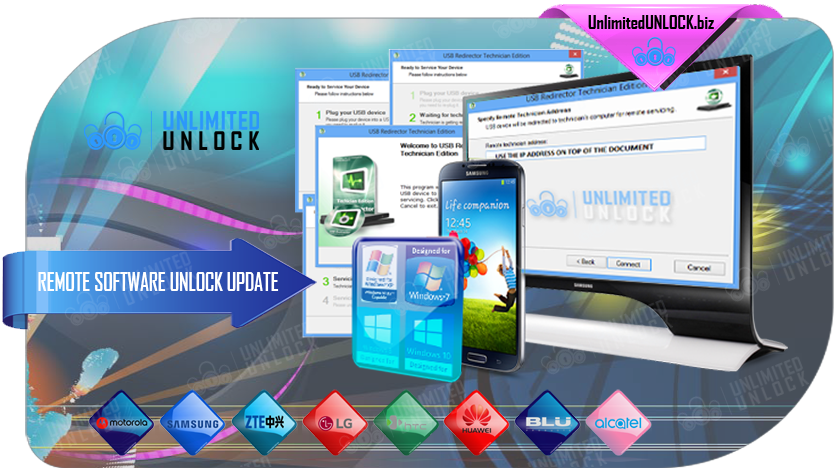 Remote Software Unlock - Samsung - Direct Remote Software & Cable Unlock
