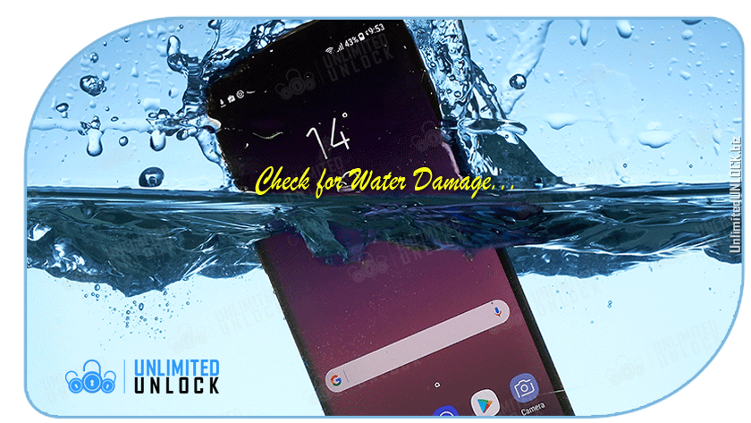 While the phone might look and function great now, a phone that has water damage might not show signs until months later.